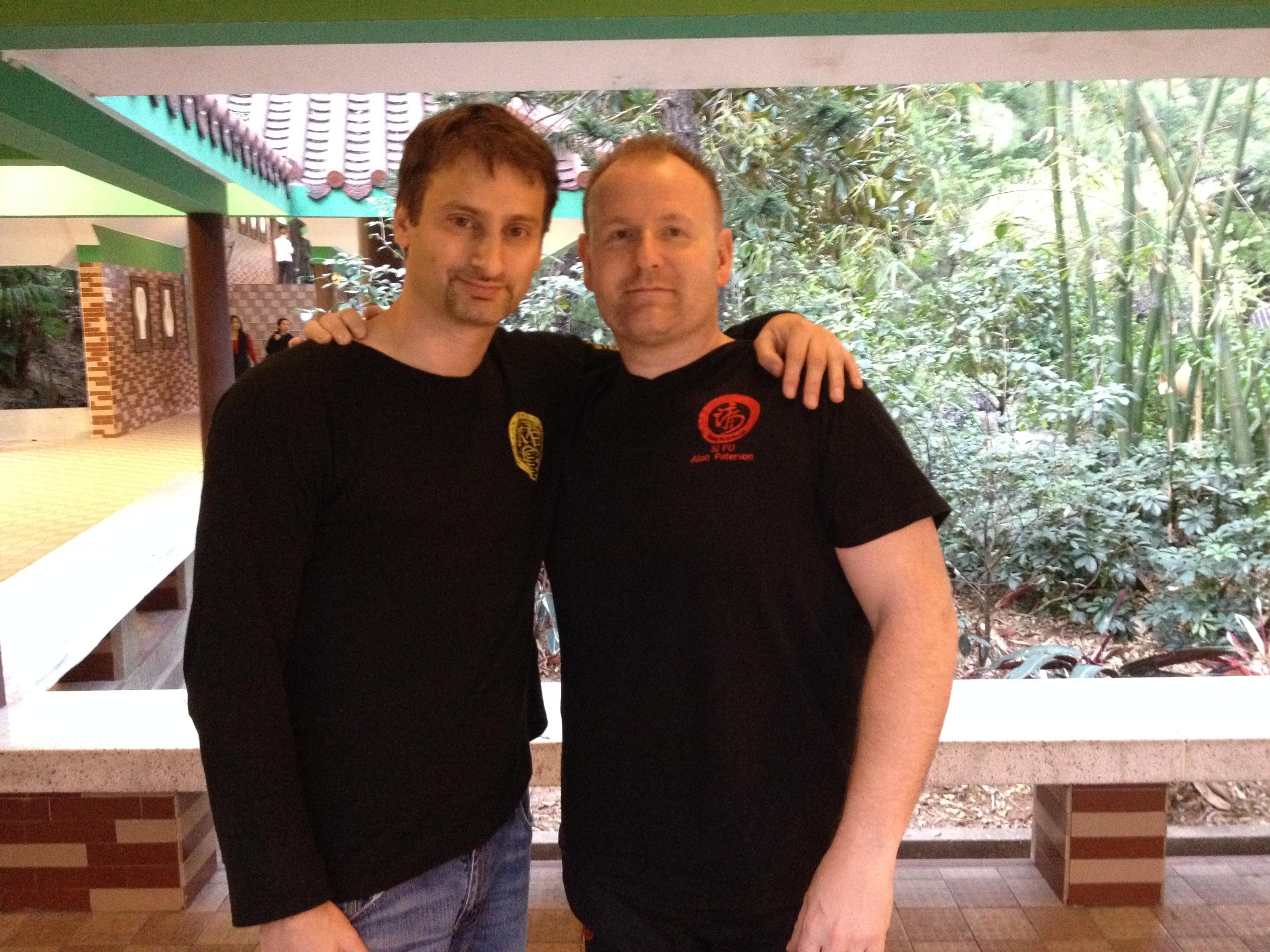 Grand Master Sergio and Sifu Alan Paterson